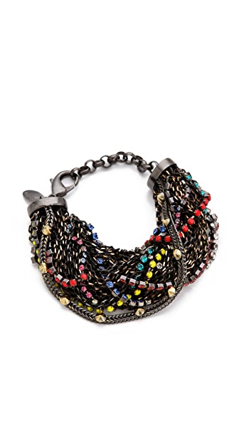 Iosselliani Twisted Multiwires Bracelet