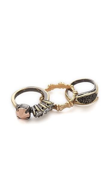 Iosselliani Bamboo Brass Ring