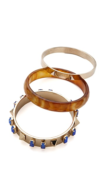Iosselliani Brass Bangle Set