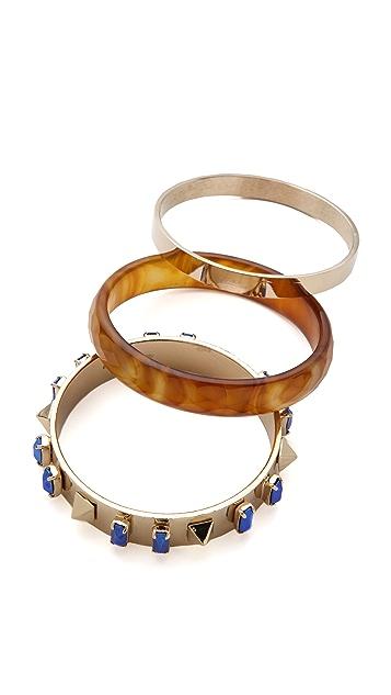Iosselliani Brass Bangle Set