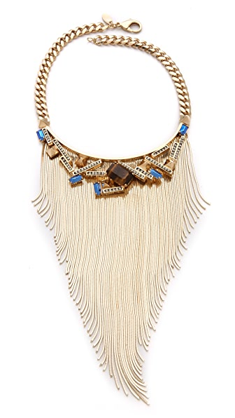 Iosselliani Graphic Fringe Necklace