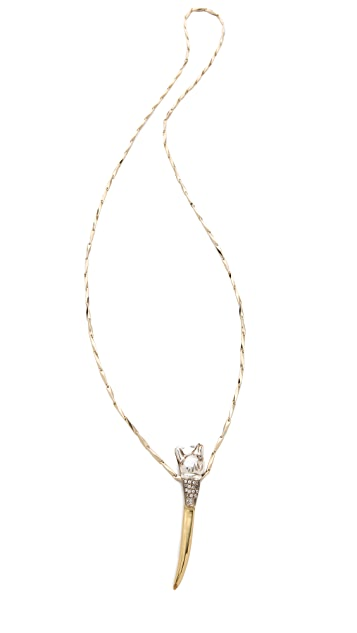 Iosselliani Panther Pendant Necklace