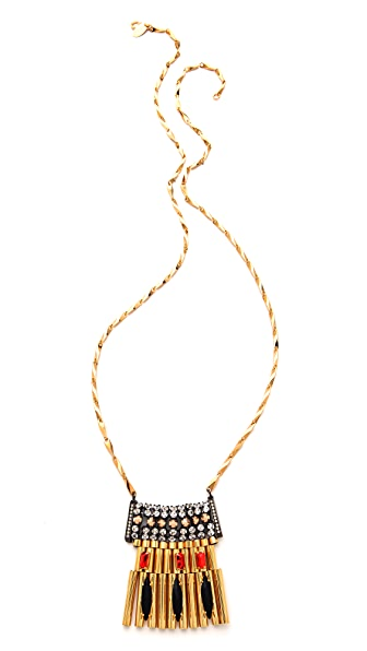 Iosselliani Brass Pendant Necklace