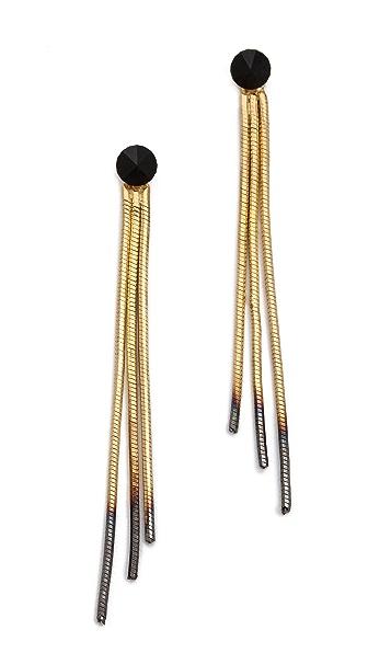 Iosselliani Shaded Fringe Earrings