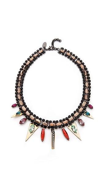 Iosselliani Graphic Collar Necklace