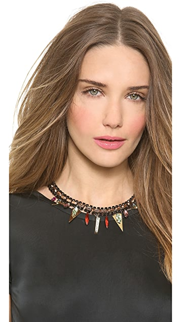 Iosselliani Graphic Collar Necklace