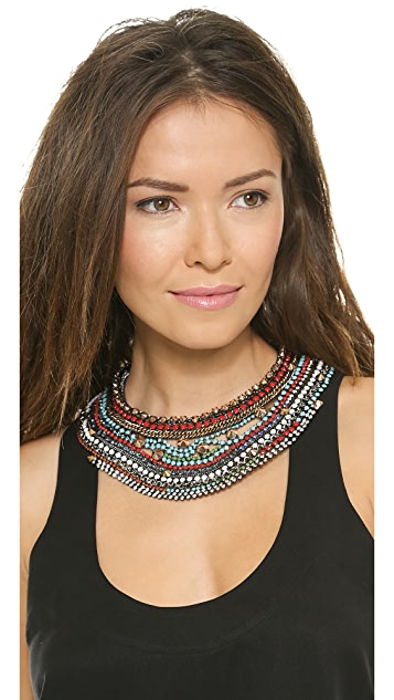 Iosselliani Stud & Stone Necklace