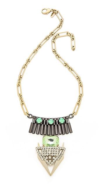 Iosselliani Graphic Element Pendant Necklace