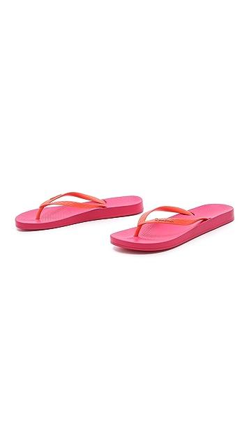 Ipanema Ana Tan Footbed Flip Flops