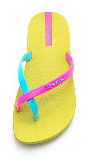Ipanema Neon Thong Sandals