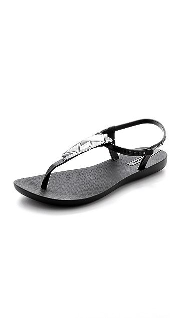 Ipanema Mosaic Embellished Sandals