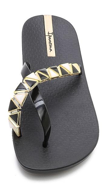 Ipanema Imperial Embellished Flip Flops