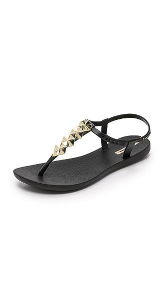 Ipanema Cleo Shine T-Strap Sandals