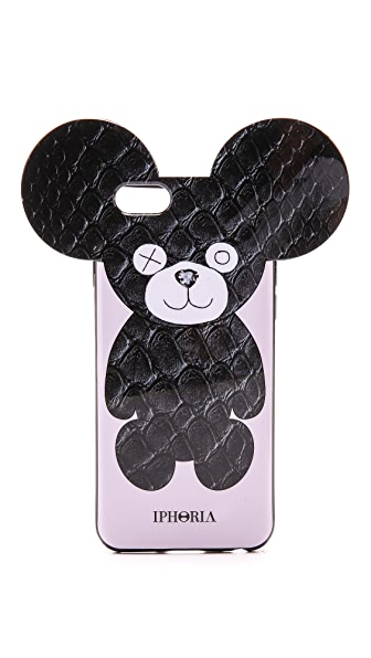 Iphoria Snake Teddy iPhone 6 / 6s Case In Black/White