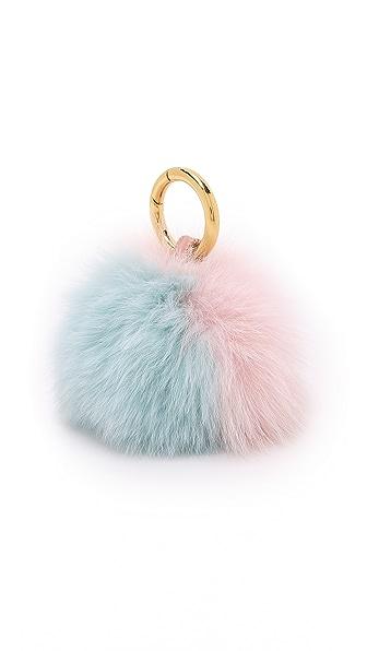 Iphoria Подвеска на сумку в виде мехового помпона