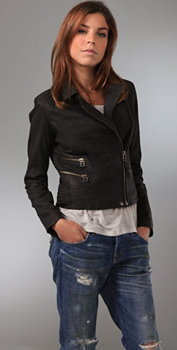 IRO Lynn Leather Jacket