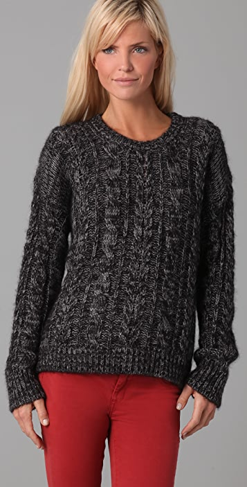 IRO Amelia Cable Knit Sweater