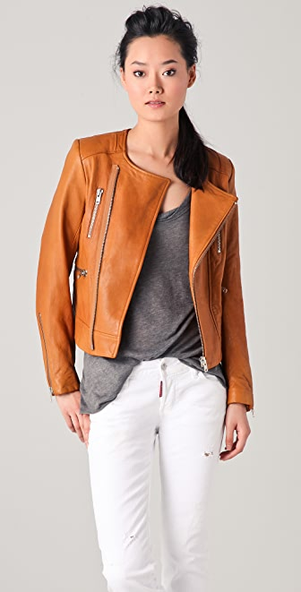IRO Isabelle Leather Jacket