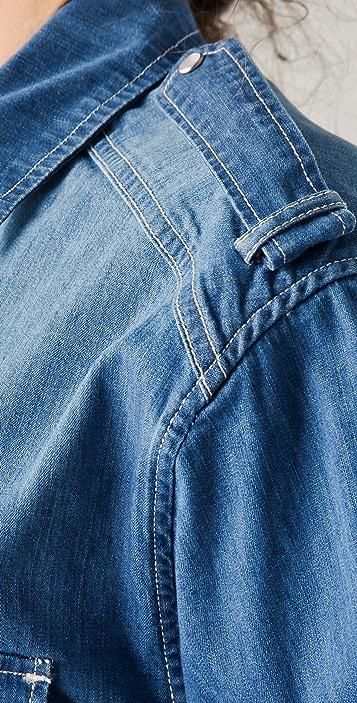 IRO Armon Denim Shirt