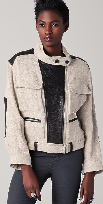 IRO Shrunken Trench Coat
