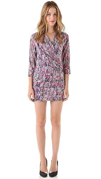 IRO Jasmine Rose Print Dress