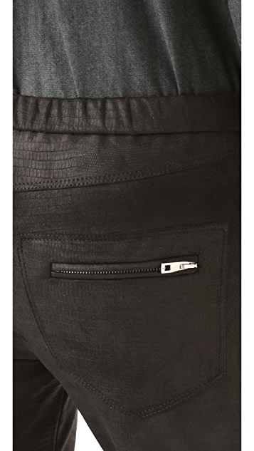 IRO Nancy Python Leather Pants
