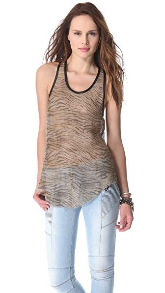IRO Ninna Leopard Tank