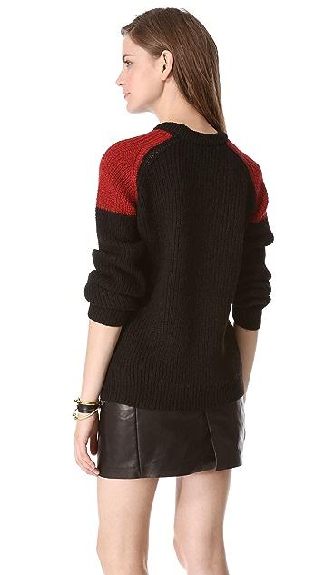 IRO Piper Colorblock Sweater