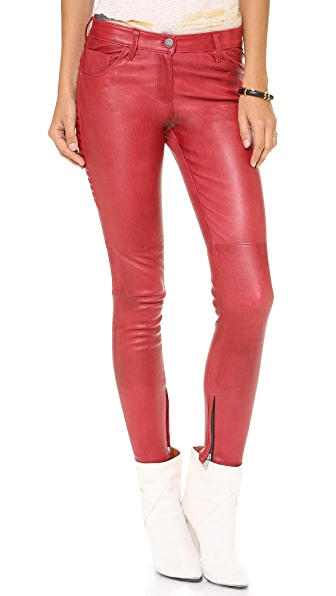 IRO Tiane Leather Pants