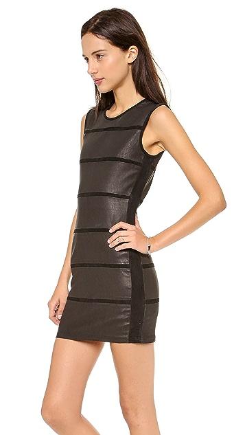 IRO Moessy Leather Dress