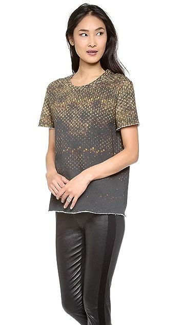 IRO Rubena Printed Sweatshirt Tee
