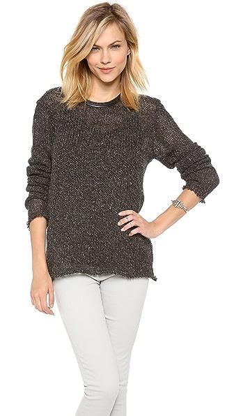 IRO Agota Open Knit Pullover