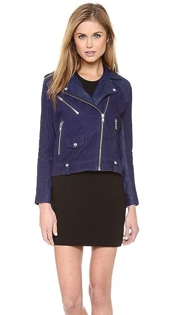 IRO Adila Leather Moto Jacket