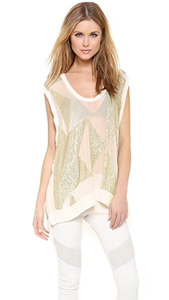 IRO Erika Tunic Top