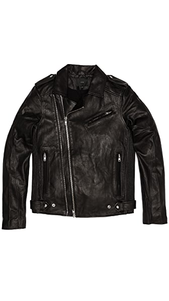 IRO Evan Perfecto Leather Jacket