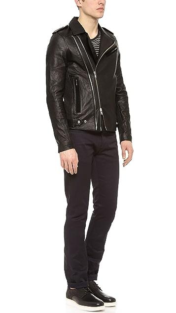 IRO Evan Perfecto Leather Jacket