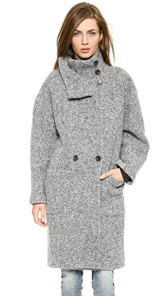 IRO Aylina High Neck Long Coat