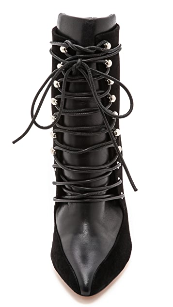 IRO Karda Lace Up Booties
