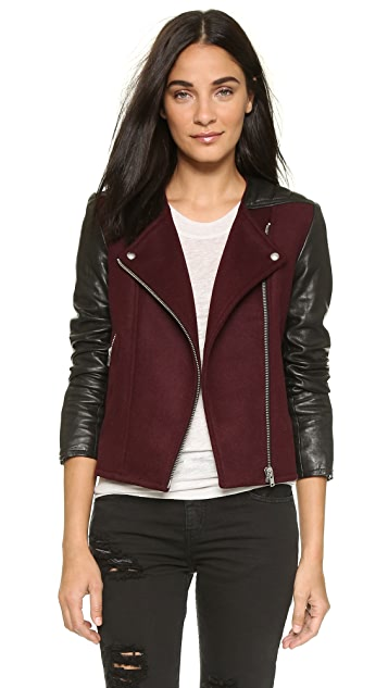 IRO Glass Leather Jacket