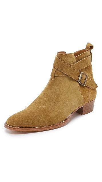 IRO Lowi Suede Jodhpur Boots