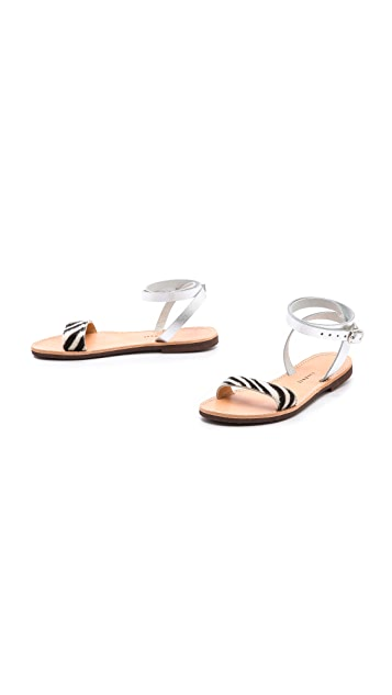 ISAPERA Ianthe Ankle Wrap Sandals
