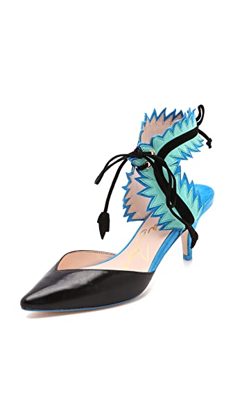 Isa Tapia Myrna Low Heel Pumps