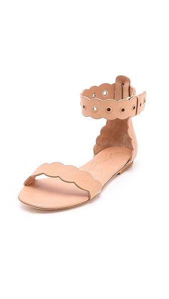 Isa Tapia Juanita Flat Sandals