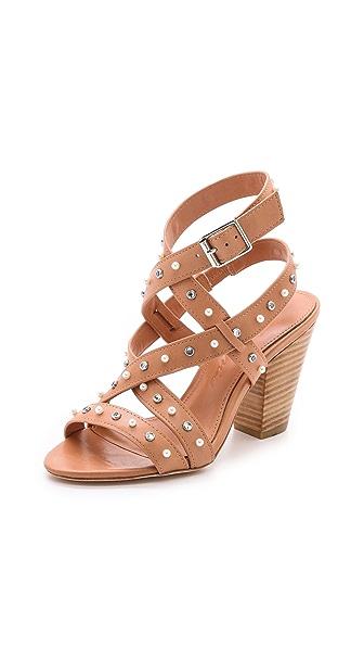 Isa Tapia Turi Studded Sandals