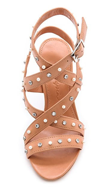 Isa Tapia Turi Studded Sandals