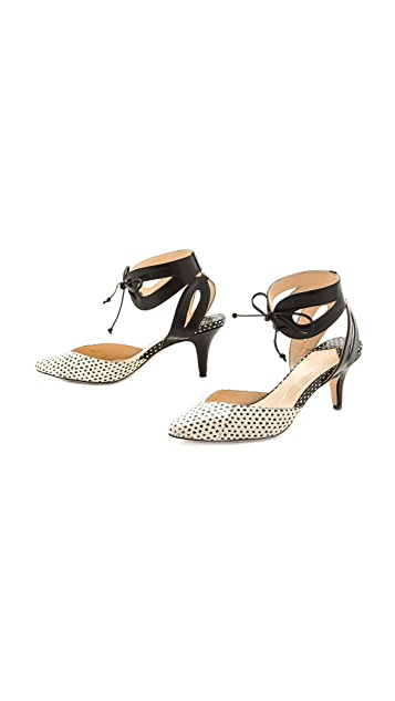 Isa Tapia Lucy Ankle Strap Pumps