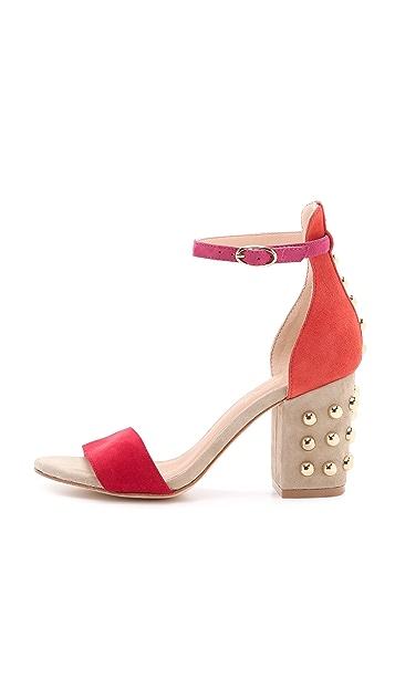 Isa Tapia Astor Block Heel Sandals