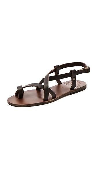 ISHVARA Ibiza Flat Sandals