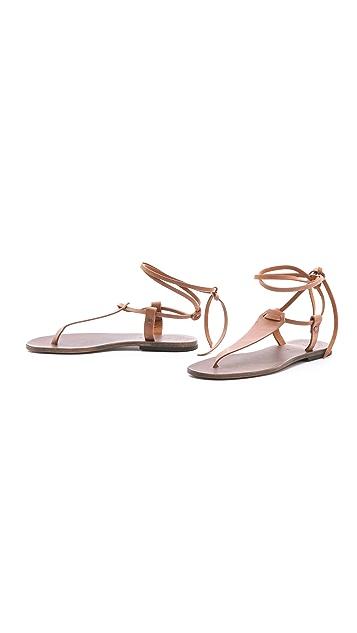 ISHVARA Terrassa Flat Sandals