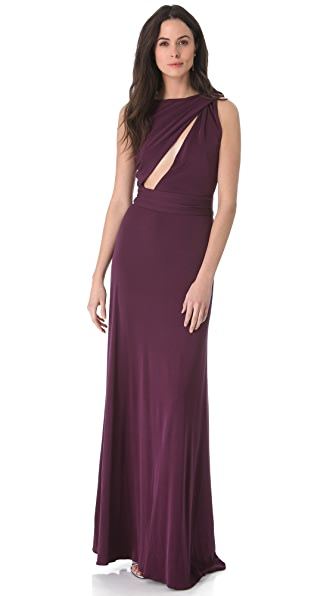 ISSA Slit Front Gown